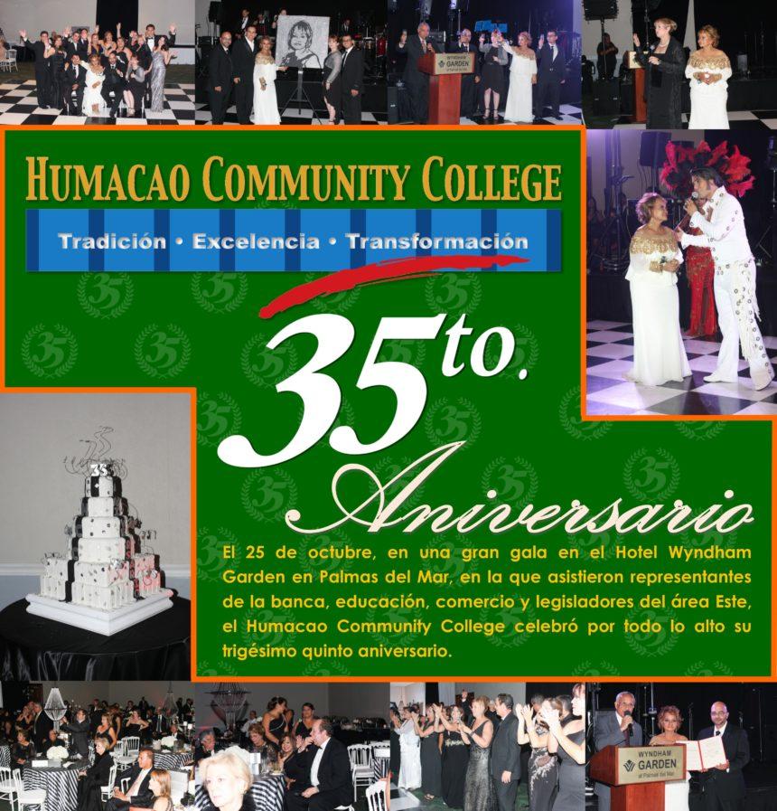 Celebrando por todo lo alto nuestro Aniversario 35